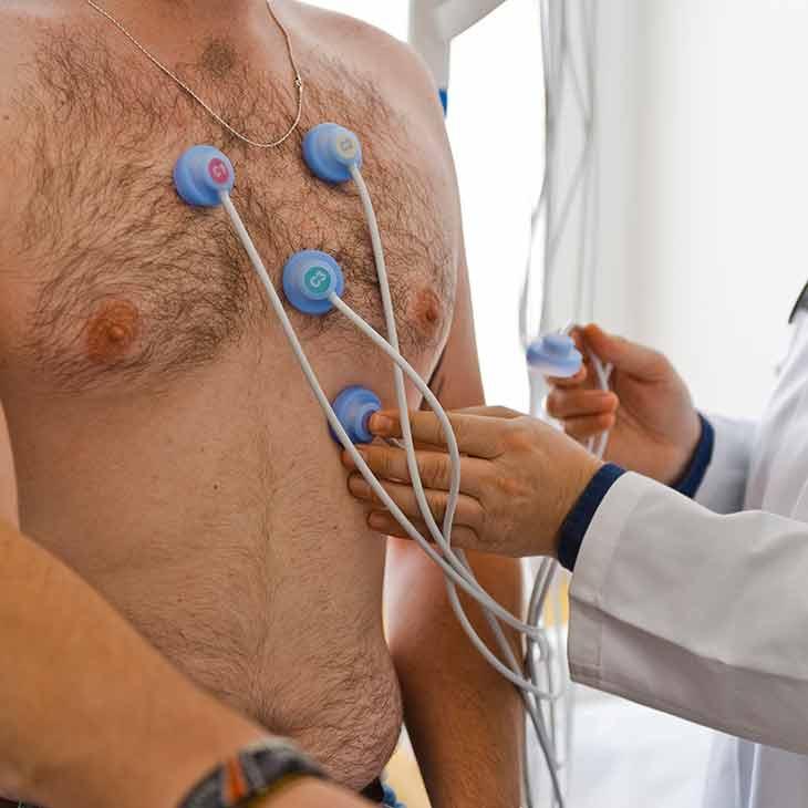 Medizinische Untersuchung Ergo